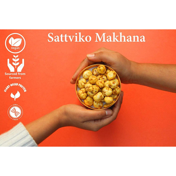 All Flavors Jar Combo Makhana Superpops - Peri Peri, Pudina, Turmeric and Rock Salt & Pepper (Pack of 4 * 65 gm) | Foodyoga