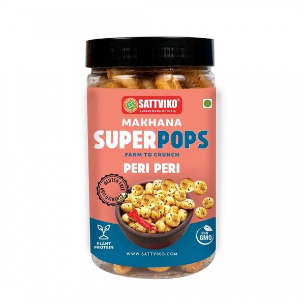 Peri Peri Makhana Superpops (Pack of 3*67gm) | Foodyoga