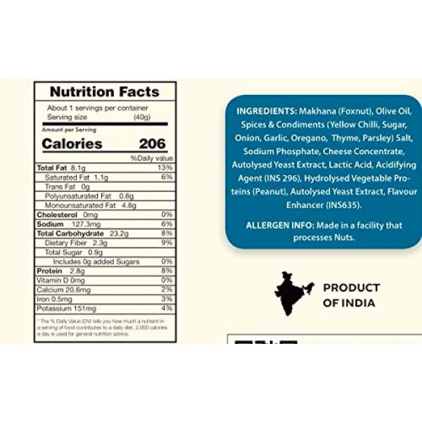 Pudina Roasted Makhana Superpops (Pack of 4 * 65 gm) | Foodyoga
